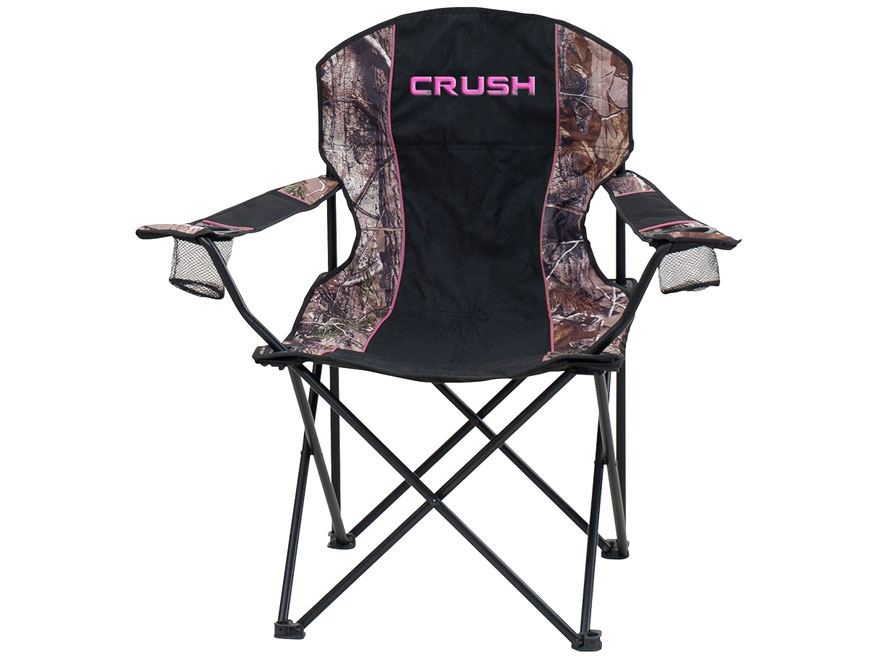 Ameristep The Crush Women 39 S Folding Chair Realtree Xtra Camo