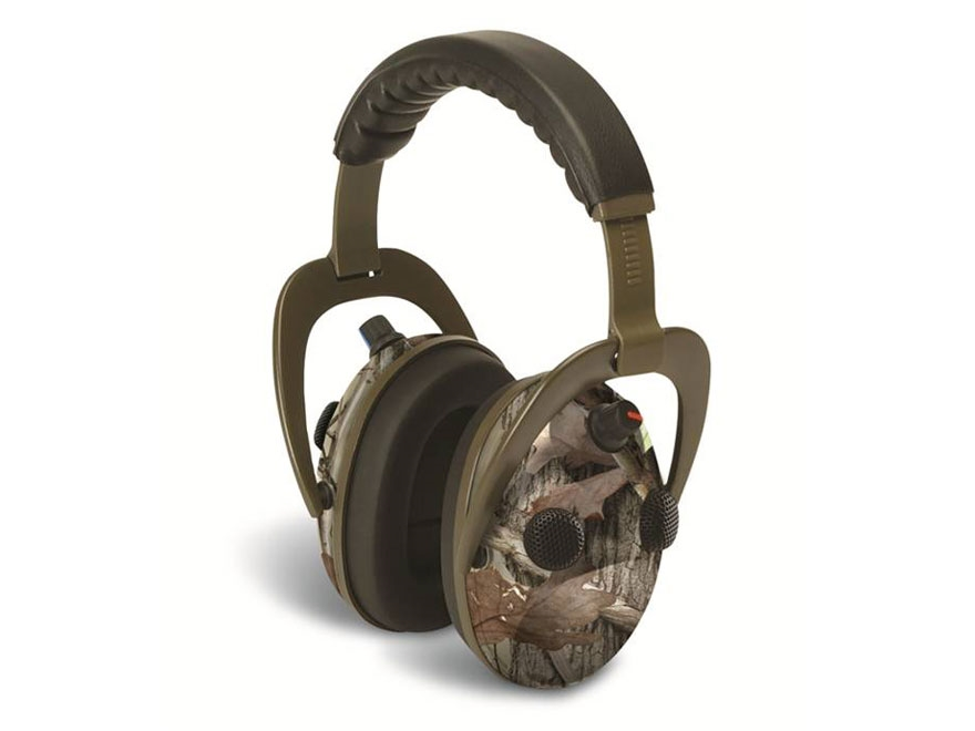 Walker's Alpha Power Muffs 360 QUAD Electronic Earmuffs (NRR 24dB) Next Camo
