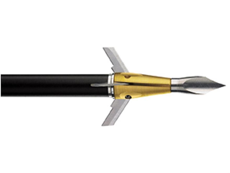 Trophy Ridge Rocket Wolverine Mechanical Broadhead 75 Grain Stainless Steel Pack of 3