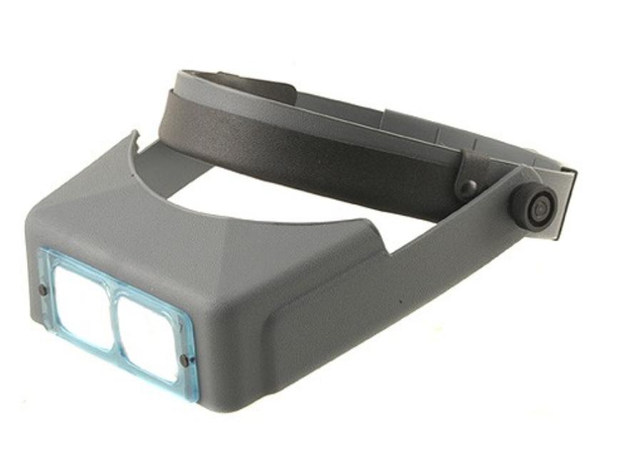 "Donegan Optical OptiVISOR Magnifying Headband Visor with 2-3/4X at 6"" Lens Plate"