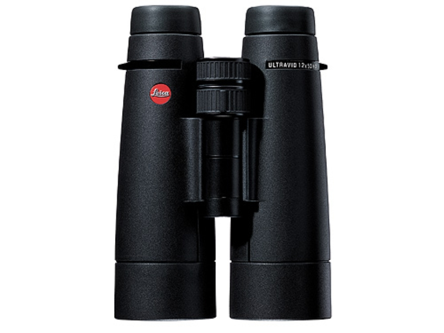 Leica Ultravid HD Binocular 12x 50mm Roof Prism Rubber Armored Black