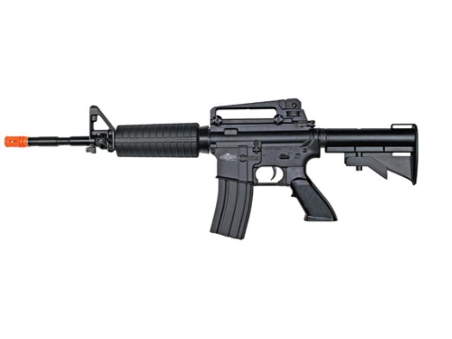 AfterMath Kirenex CQB Airsoft Rifle 6mm Blowback Semi-Automatic Polymer Black