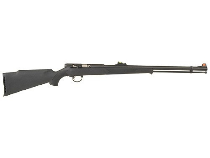 "CVA Stag Horn 209 Magnum Muzzleloading Rifle 45 Caliber #209 Primer 1 in 32"" Twist 24"" Barrel Blue Synthetic Stock Black"