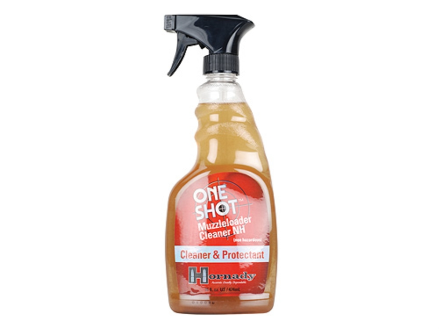 Hornady One Shot Muzzleloader Cleaner 15 Oz Spray Bottle