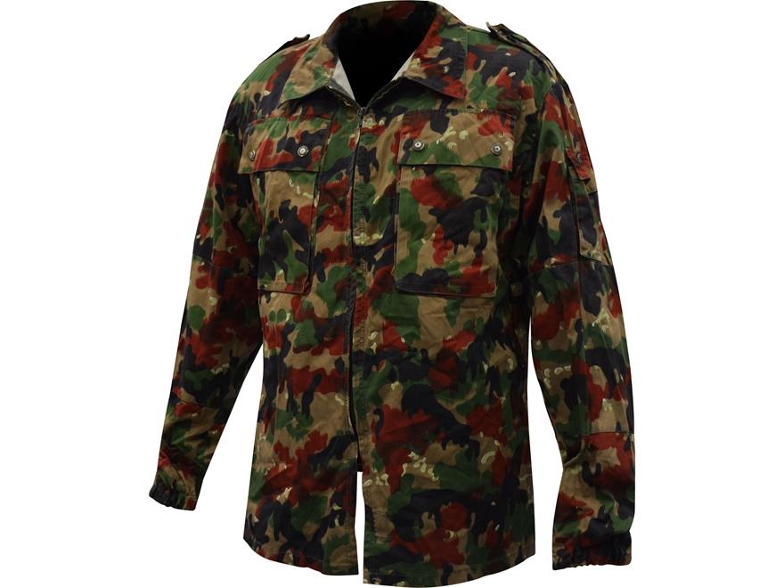 Military Surplus Like New Swiss Camo M83 Field Jacket