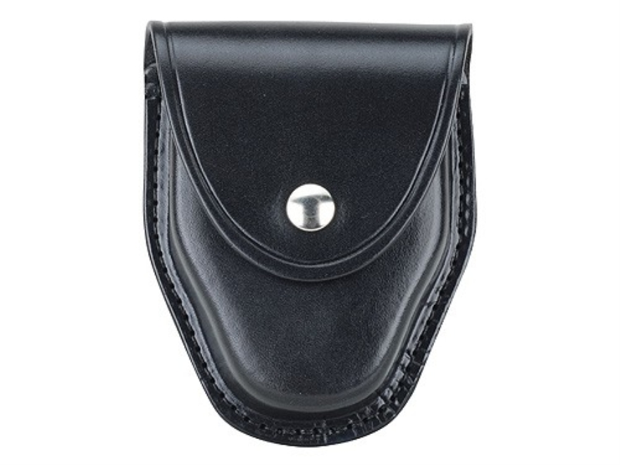 Gould & Goodrich B470 Handcuff Case for ASP Tactical Chain Handcuffs Leather Black