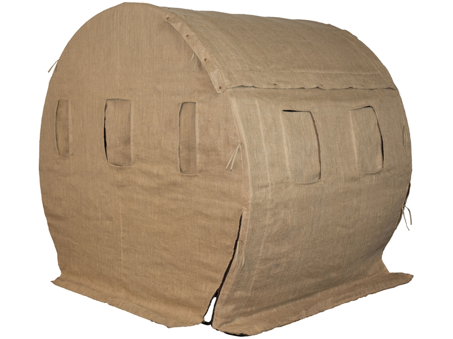 Muddy The Bale Blind Ground Blind Steel Fabric