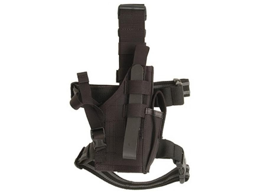 BlackHawk Omega 6 Elite Drop Leg Holster Glock 17, 19, 22, 23, 27, Sig P226, P228, S&W ...