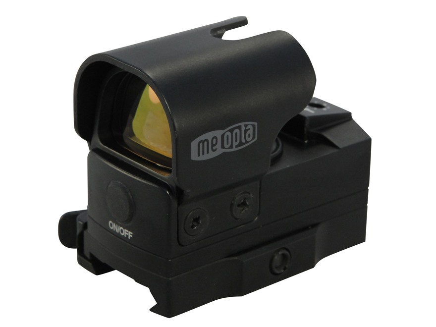 Meopta ZD M-Rad Reflex Red Dot Sight 5 MOA Dot with Quick Detach Picatinny-style Mount
