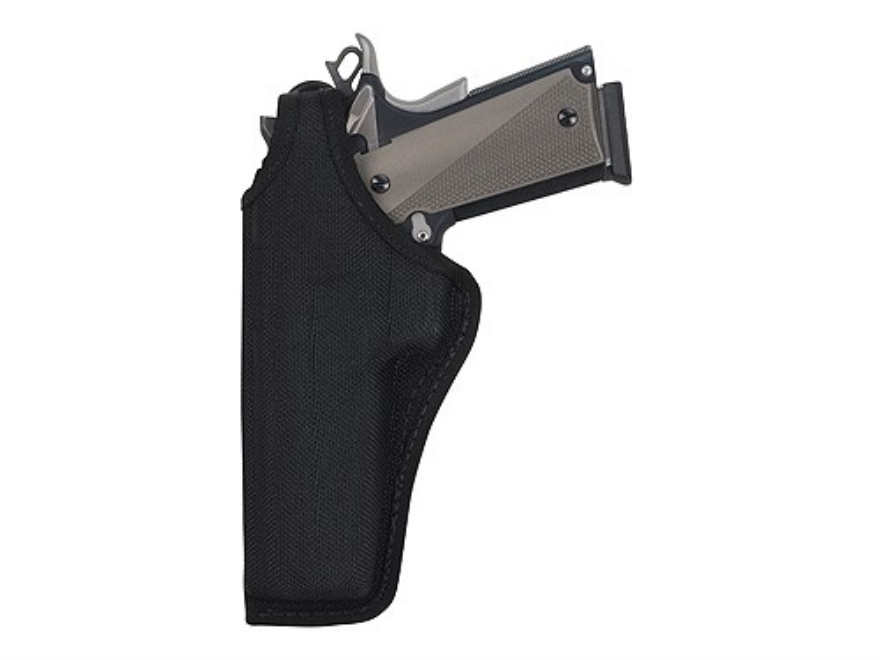 Bianchi 7105 AccuMold Cruiser Holster Left Hand S&W 411, 909, 1076, 3904, 4006, 5904 Nylon Black