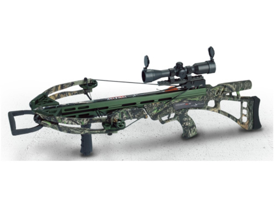 Carbon Express Covert SLS Crossbow Package with Illuminated 4x32 Multi-Reticle Scope Mossy Oak Obsession Camo