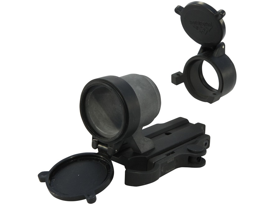 GG&G Accucam Quick-Detach Trijicon ACOG TA01NSN Sight Mounting Base with Integral Lens Covers Picatinny-Style Matte