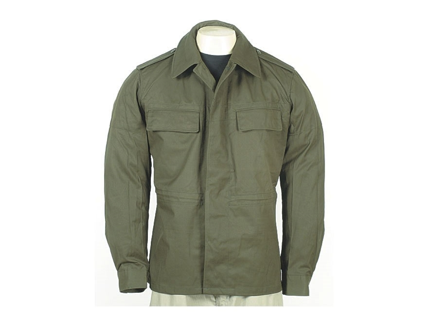 Military Surplus New Condition Czech Field Jacket Olive Drab