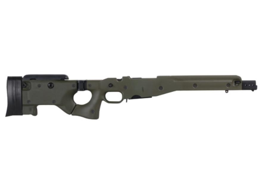 Accuracy International Chassis System (AICS) 2.0 Folding Stock Remington 700 Short Acti...