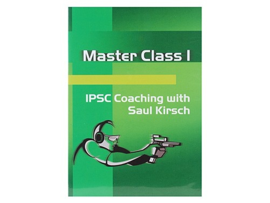 "CED Video ""Master Class 1: IPSC Coaching with Saul Kirsch"" DVD"