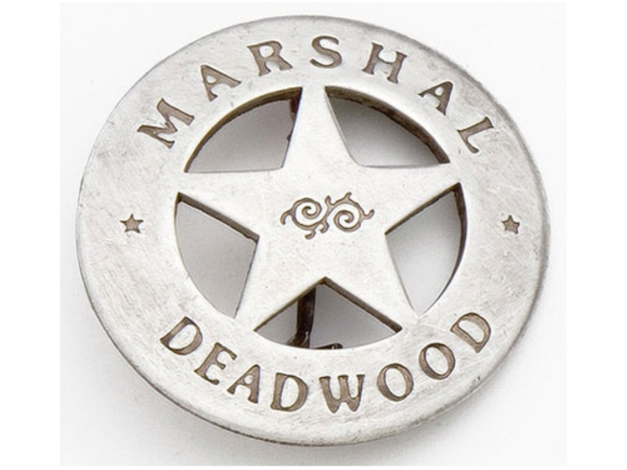 Collector's Armoury Replica Old West Deluxe Marshal Deadwood Badge
