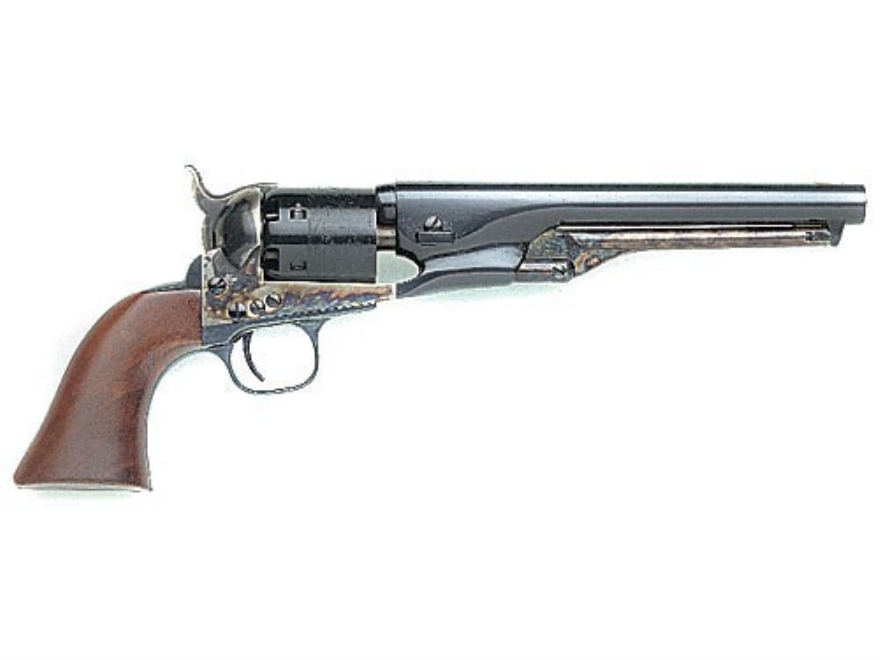 "Uberti 1861 Navy Steel Frame Black Powder Revolver 36 Caliber 7-1/2"" Blue Barrel"