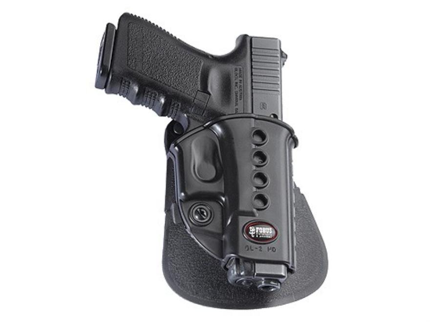 Fobus Evolution Paddle Holster Right Hand Beretta PX4 Storm Polymer Black