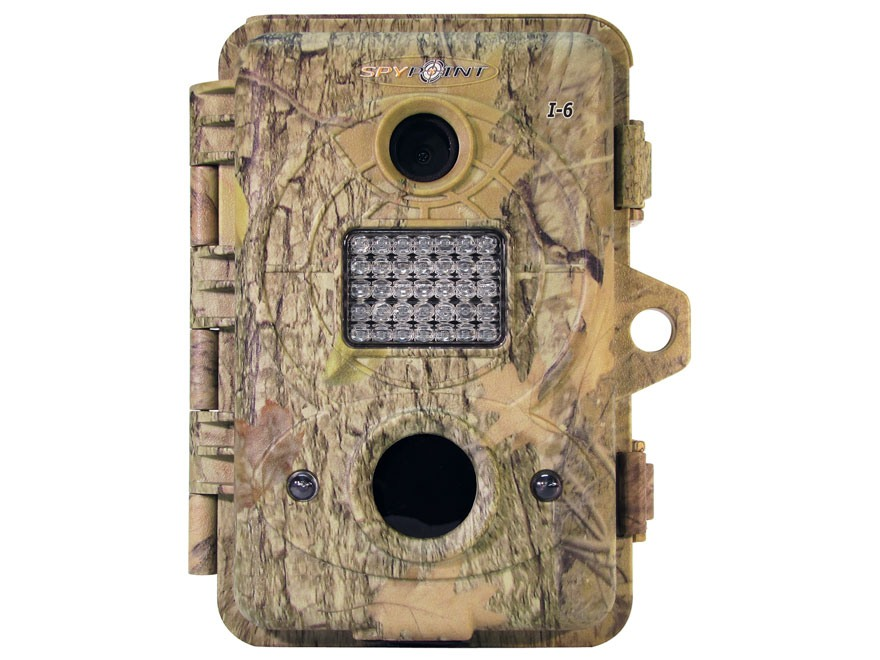 Spypoint I-6 Infrared Game Camera 6.0 Megapixel Spypoint Dark Forest Camo