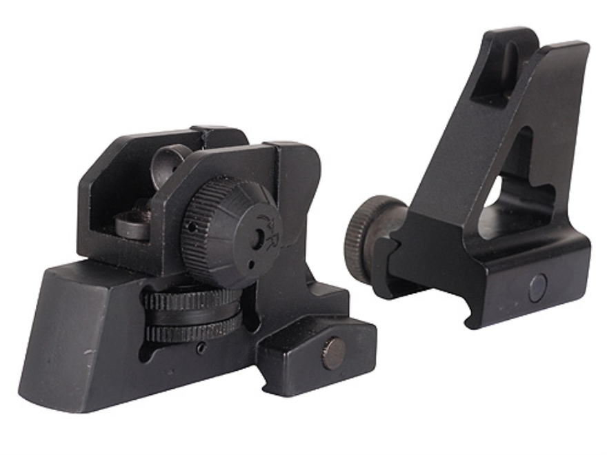 GMG Detachable Front and Rear Sight Combo A2-Style AR-15 Aluminum Matte