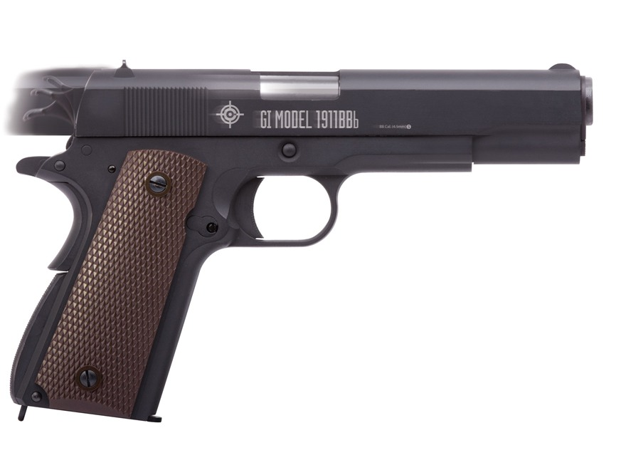 Crosman GI Model 1911 Air Pistol 177 Caliber BB Full Metal