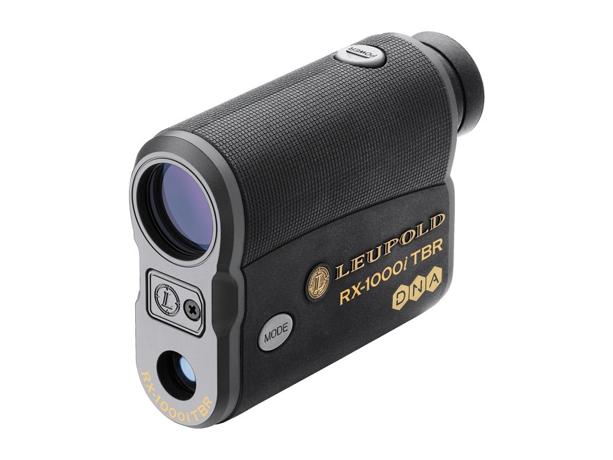 Leupold RX-1000i TBR with DNA Laser Rangefinder 1000 Yard True Ballistic Range 6x Armored Black and Gray