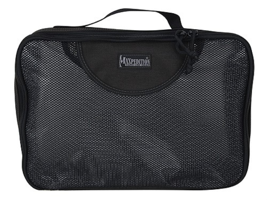 Maxpedition Large Cuboid Travel Pack Nylon and Mesh Black