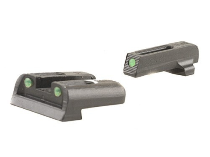 TRUGLO TFO Sight Set Sig Sauer #6 Front #8 Rear Steel Tritium / Fiber Optic