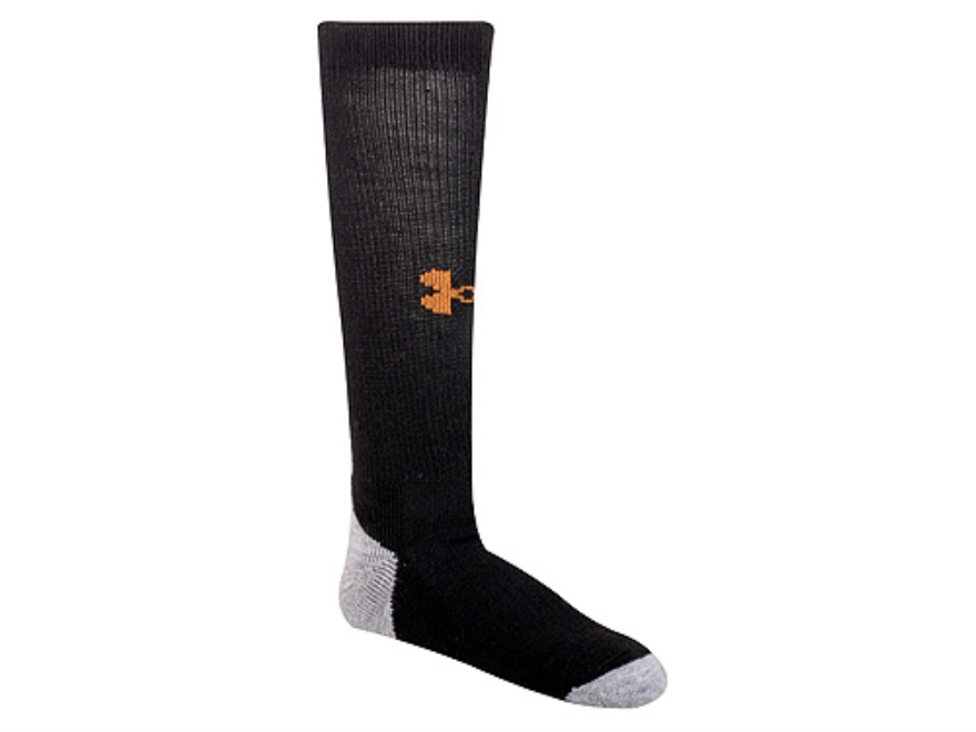 Under Armour Men's ColdGear Outdoor Lite Boot Socks Synthetic Blend Large (9-12.5)