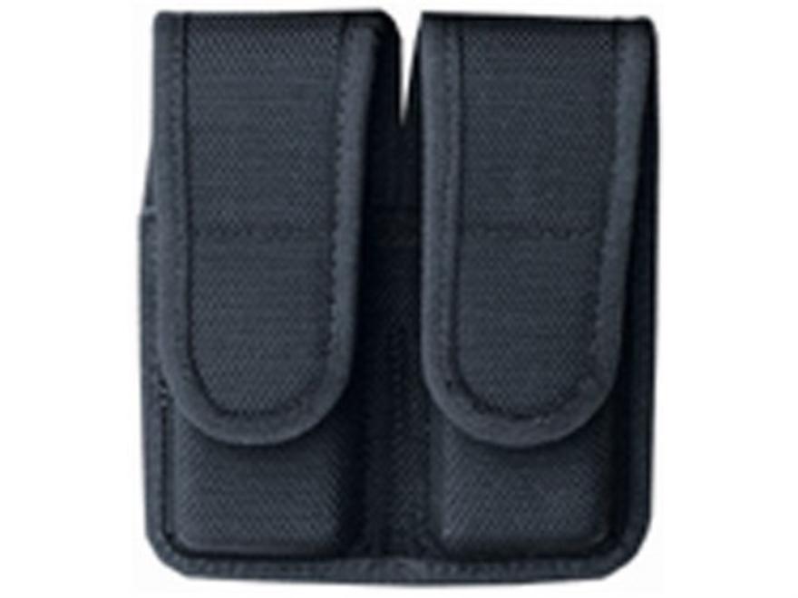 Bianchi 7302 Double Magazine Pouch Glock 20, 21, HK USP 40, 45 Nylon Black