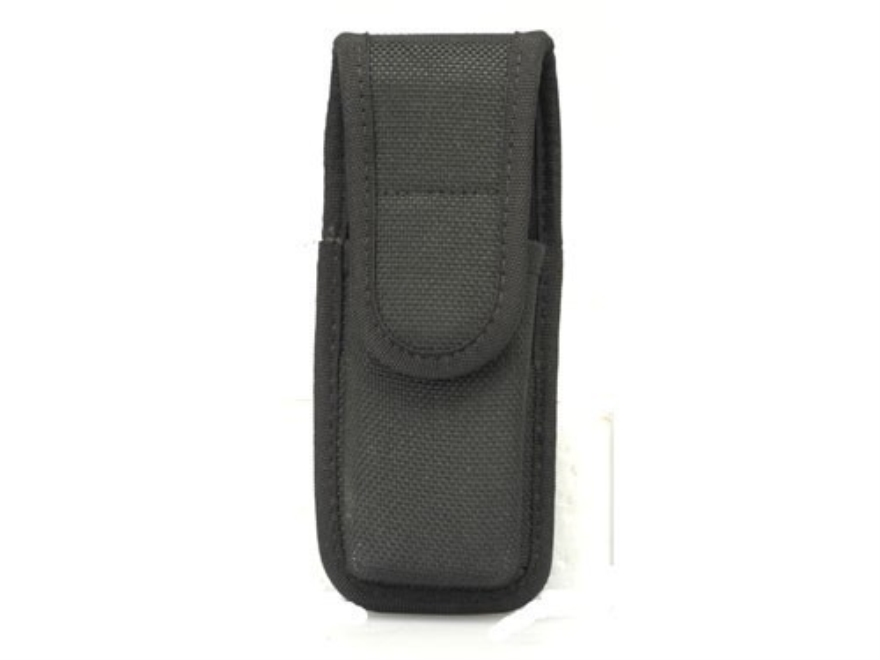 Bianchi 7303 Single Magazine Pouch or Knife Sheath Full Size Double Stack 45 ACP Nylon Black