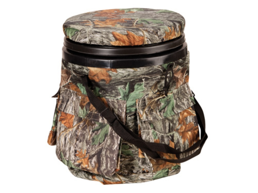 Big Game Swivel Sportsman's Bucket Matrix Camo