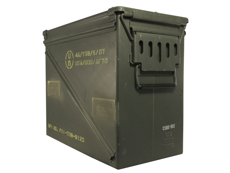 Military Surplus Ammo Can 30mm Grade 2