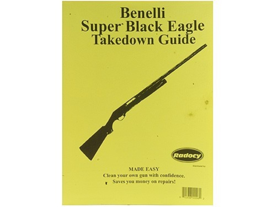 "Radocy Takedown Guide ""Benelli Super Black Eagle"""