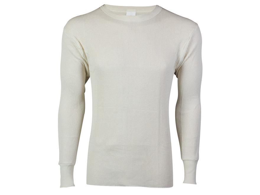 Indera Men's Maximum Weight Thermal Long Sleeve Shirt