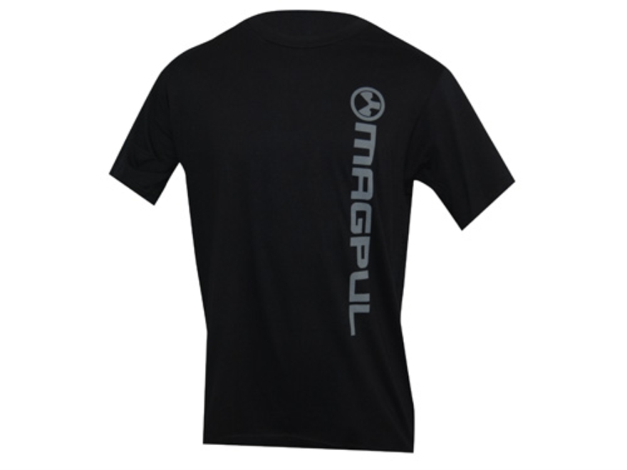 Magpul T-Shirt Branded Base Short Sleeve Cotton Black Large