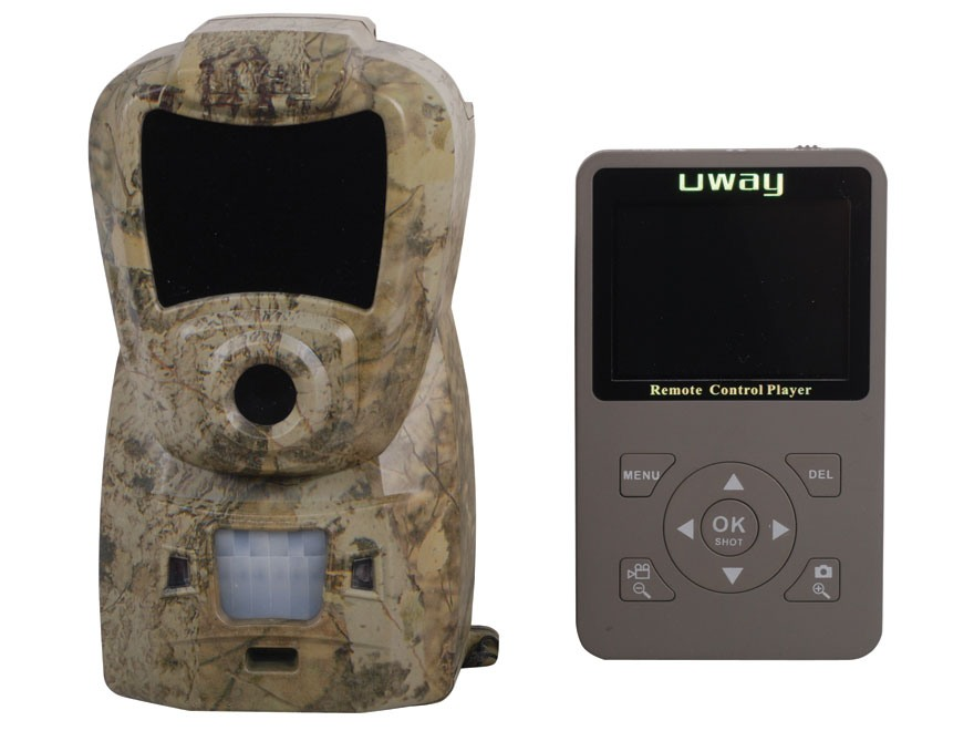 UWAY NightTrakker NT50B Black Infrared Digital Game Camera with Color Viewing Screen 5.0 Megapixel HCO Stem Camo