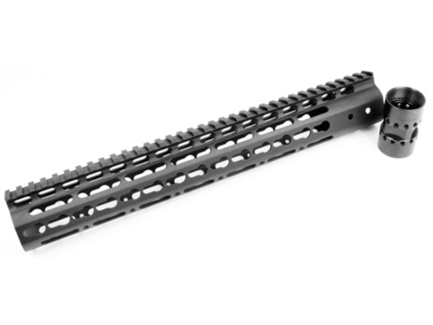 Noveske NSR Keymod Customizable Free Float Handguard AR-15 Aluminum Black