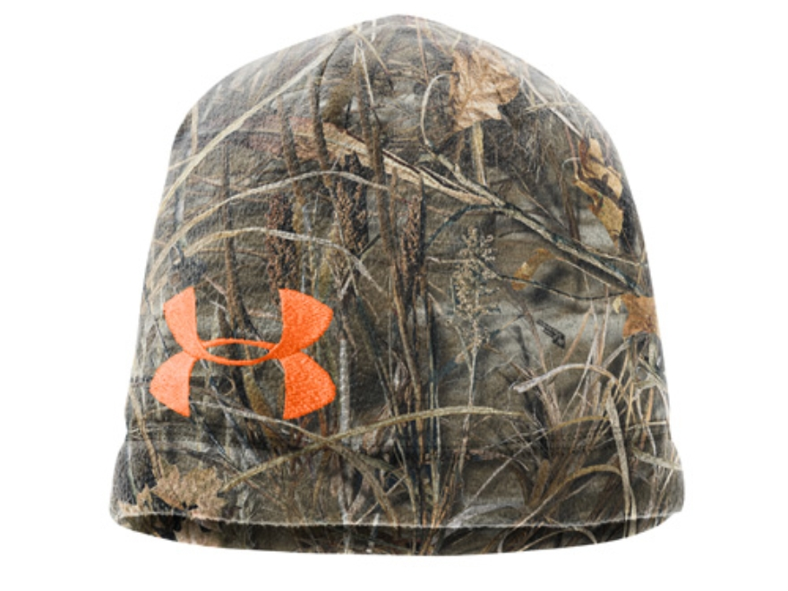 Under Armour Fleece Beanie Polyester Realtree Max-4 Camo