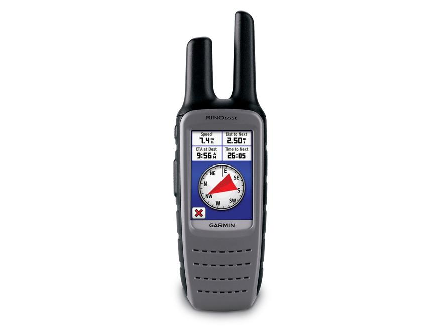 Garmin Rino 655t Handheld GPS Unit