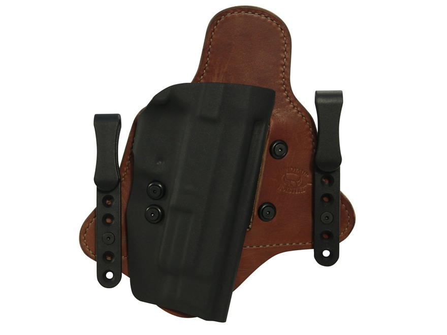 Comp-Tac Minotaur MTAC Inside the Waistband Holster S&W M&P Pro 9mm, 40 S&W Kydex and Leather