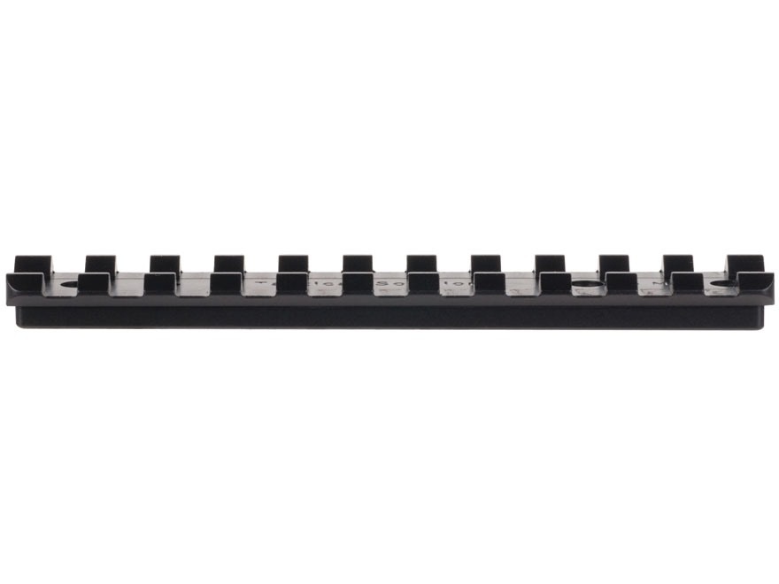Tactical Solutions 1-Piece Picatinny-Style 15 MOA Elevated Base Ruger 10/22 Black