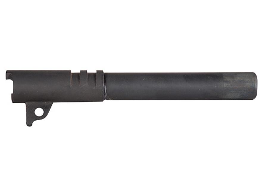 """Swenson Semi Drop-In Barrel 1911 38 Super 1 in 16"""" Twist 5"""" Government Steel Matte Black"""