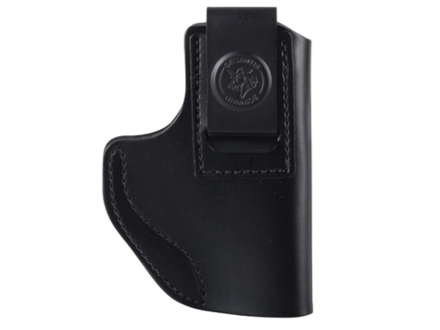 DeSantis Insider Inside the Waistband Holster Glock 42, 43, S&W M&P22 Compact Leather Black