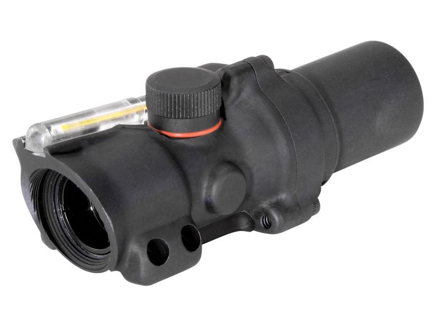 Trijicon ACOG TA26 Compact Rifle Scope 1.5x 16mm  Dual-Illuminated Amber Ring and Dot Reticle Matte