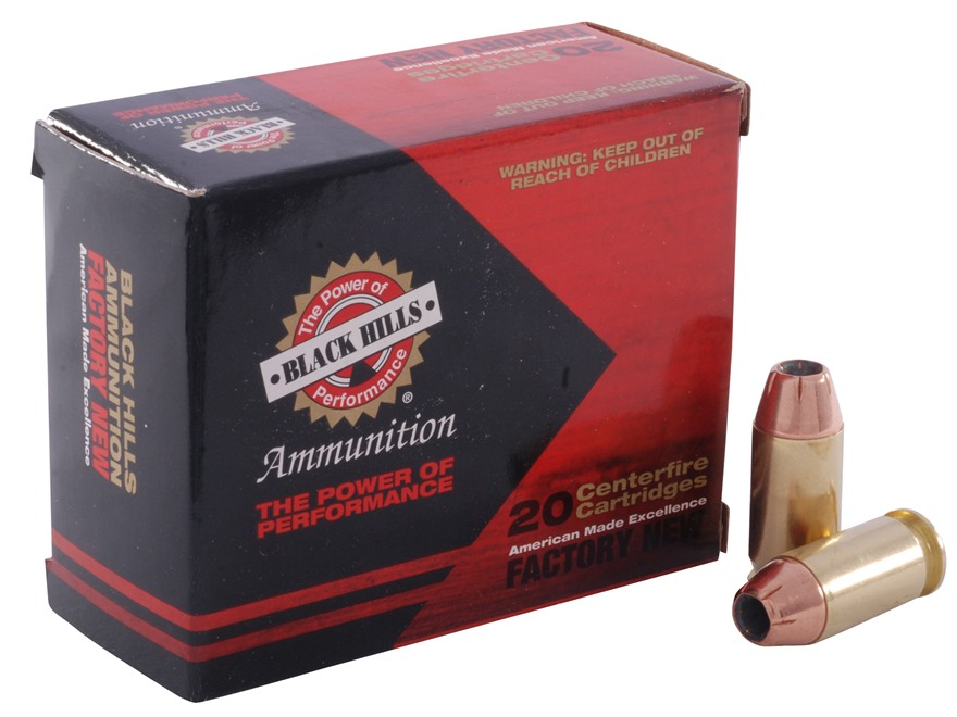 Black Hills Ammunition 45 ACP 230 Grain Jacketed Hollow Point Box of 20