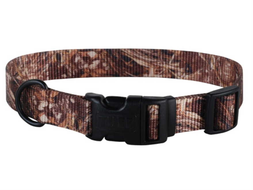 "Remington Adjustable Clip Dog Collar 1"" x 14-20""  Nylon Realtree Max-4 Camo"