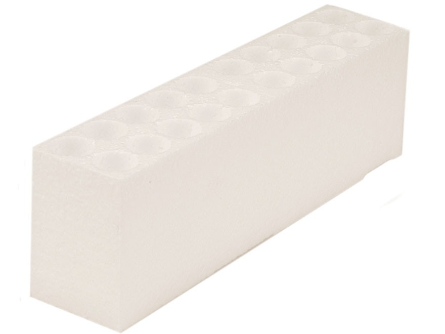 MidwayUSA Styrofoam Tray for Factory Style Ammo Box 22-250 Remington, 308 Winchester, 270 Winchester, 30-06 Springfield Box of 692