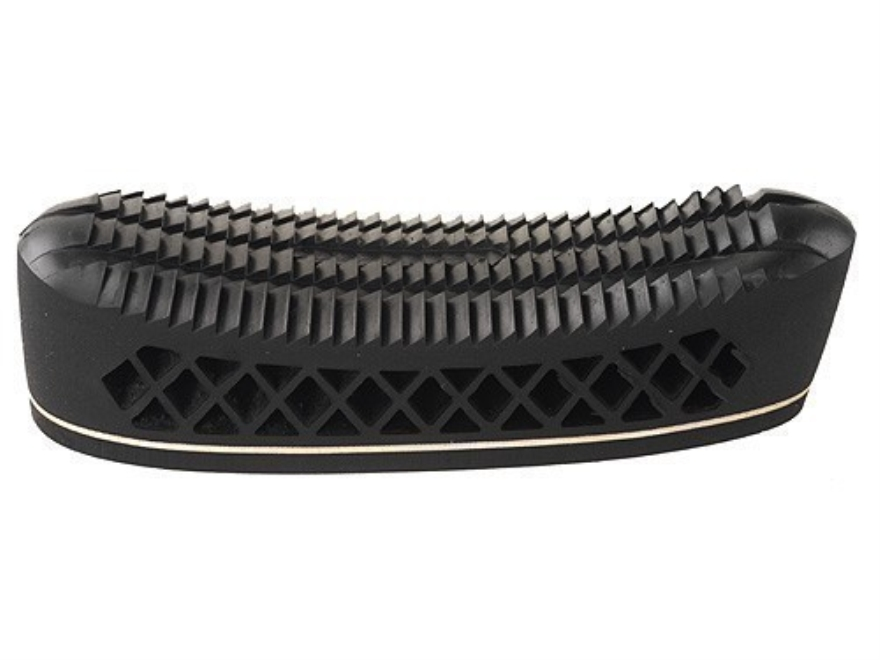 """Pachmayr T550 Deluxe Trap Recoil Pad 1.1"""" Medium Pigeon Face Black with White Line"""