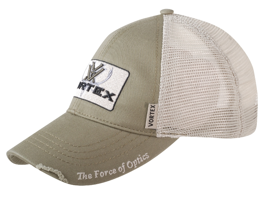 Vortex Optics Mesh Back Logo Cap Green Cotton